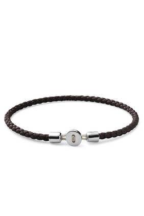 Nexus Leather Bracelet