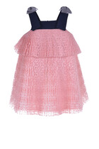 Pleated Trapeze Dress