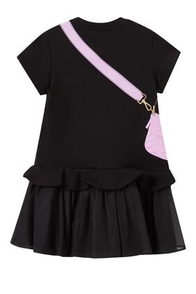 Baguette Print Dress