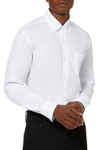 Shirt With Button Down Collar