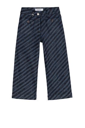 Stripes Denim Jeans