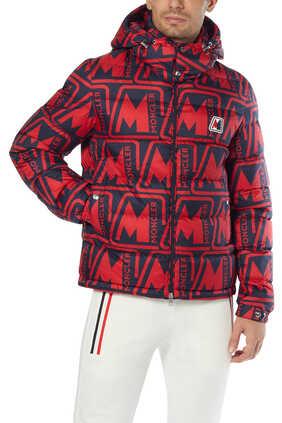 Frioland All-Over Logo Padded Jacket