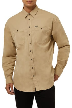 2-Pocket Safari Shirt