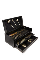 Moon Champagne 75 Piece Cutlery Set