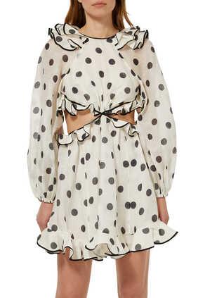 The Lovestruck Frilled Mini Dress