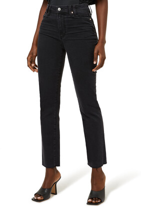 Cindy Raw Hem Jeans