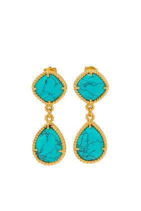 Candi Turquoise Earrings