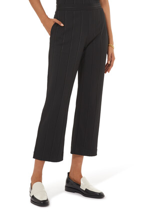 Ribbed Pull On Pants