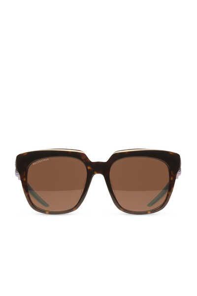 Hybrid D-Frame Sunglasses
