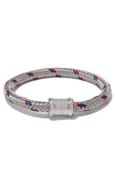 Silver Single Steel Casing Bracelet