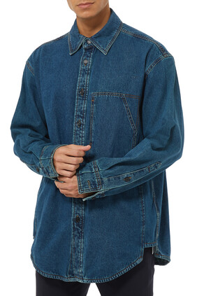 Denim Logo Shirt
