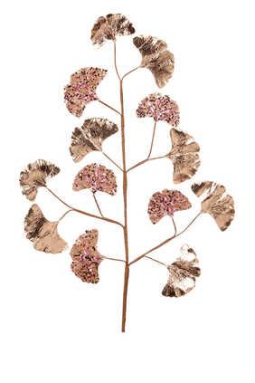 Ginkgo Jewel Bead Leaf Stem
