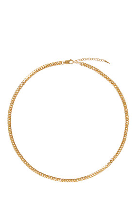 Round Curb Chain Necklace