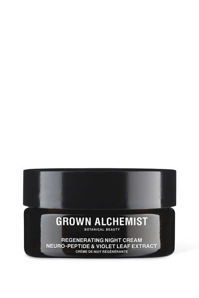 Regenerating Night Cream: Neuro-Peptide and Violet Leaf Extract