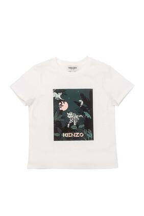 Graphic Jungle Print T-Shirt