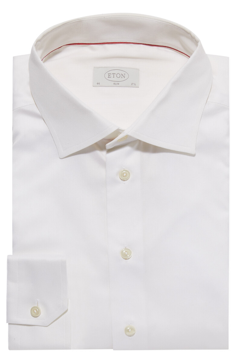Slim Fit Signature Twill Shirt image number 1