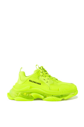Triple S Fluorescent Sneakers