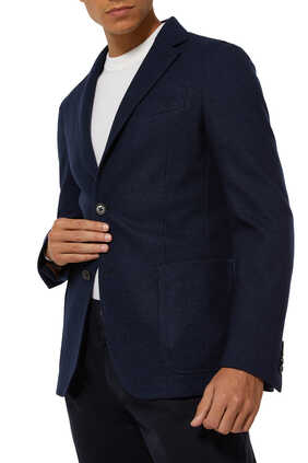 Cotton And Cashmere Jerseywear Jacket