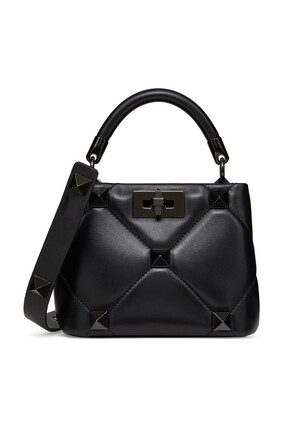 Valentino Garavani Small Roman Stud The Handle Bag