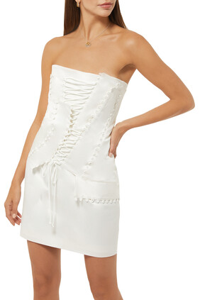 Cavalla Corsetted Dress