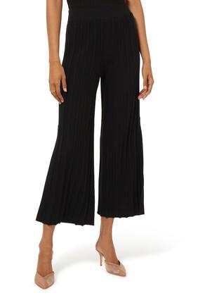 Ribbed Wool Pants
