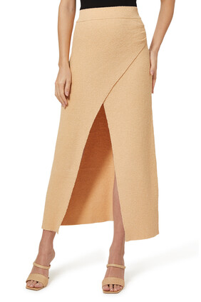 Wrap Around Midi Skirt