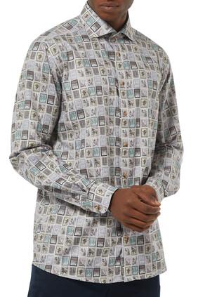 Postage Print Shirt