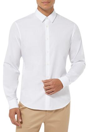 Slim Fit Cotton-Poplin Shirt