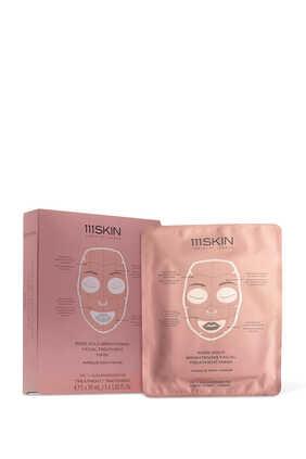 Rose Gold Facial Masks, Pack of 5