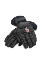 Embroidered Logo Quilted Gloves