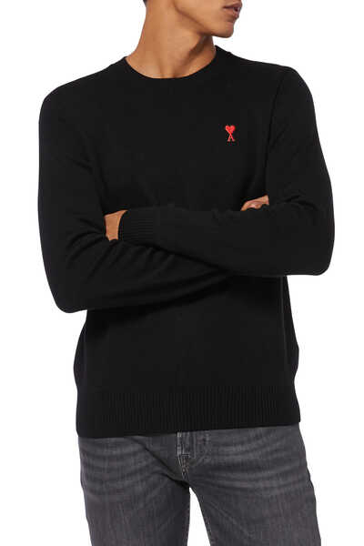 Embroidered Patch Pullover