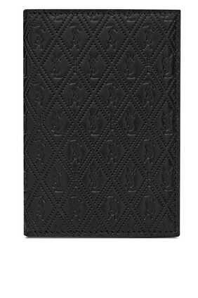 Monogram Leather Credit Card Wallet