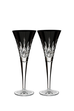Waterford Lismore Flutes, Set of Two