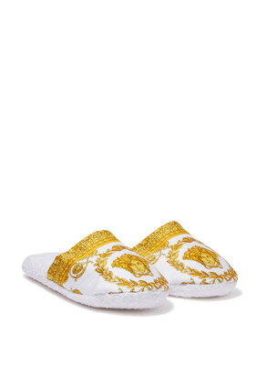 Baroque Bath Slippers