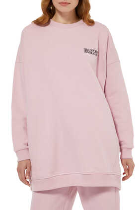 Oversized Logo Sweatshirt