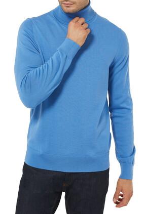Roll Neck Wool Sweater