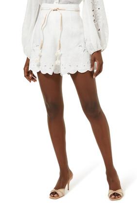 Nina Embroidered Shorts