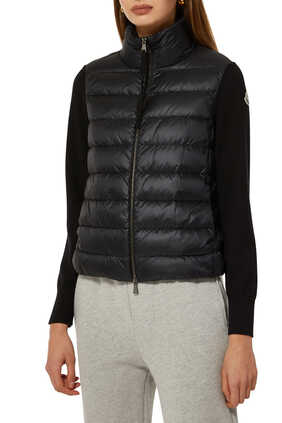 Tricot Quilted Cardigan