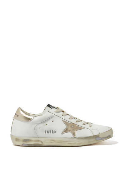 Shimmer Cotton Superstar Sneakers