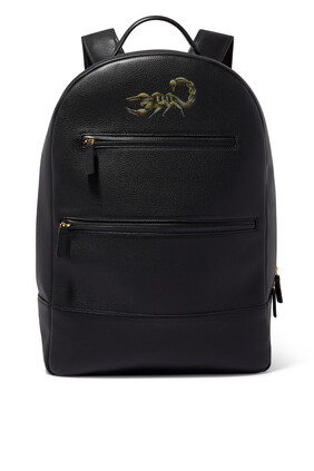 Scorpion Leather Backpack