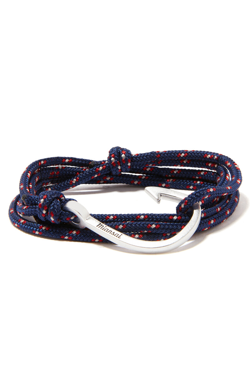Hooked Rope Bracelet image number 1