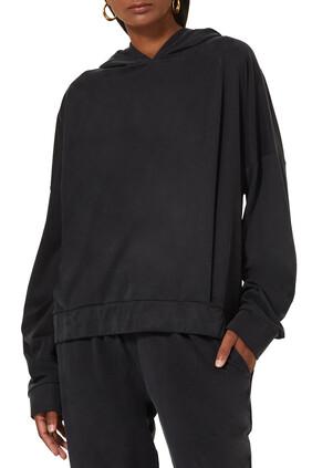 Carol Jersey Hooded Sweatshirt