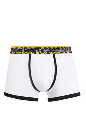 Logo Stretch-Cotton Boxers