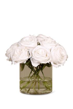 Velvet Rose Flower Arrangement