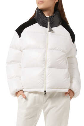 Chouelle Giubbotto Two-Tone Down Jacket