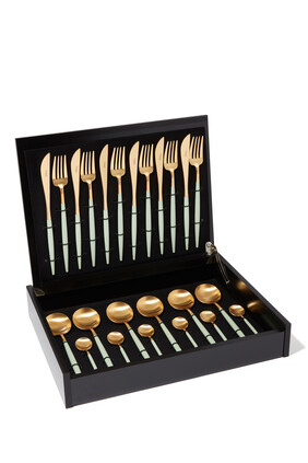 Goa Celadon 24 Piece Cutlery Set