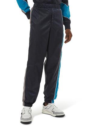 Optical Valentino Motif Nylon Trousers