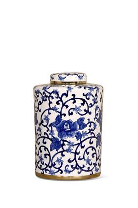 Floral Ceramic Jar