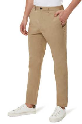 Zaine Slim Fit Poplin Pants