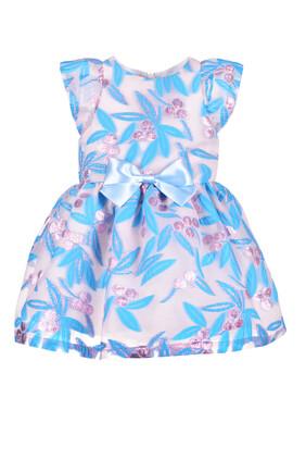 Flutter Bodice Dress